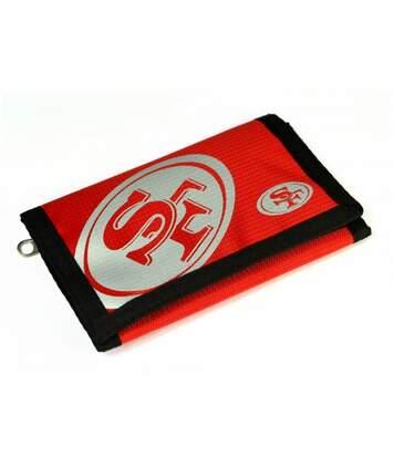 San Francisco 49Ers - Porte-Monnaie Nfl (Rouge/Noir/Argent) - UTBS568