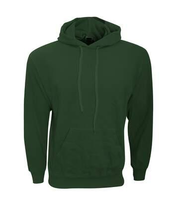 Fruit Of The Loom Mens Hooded Sweatshirt / Hoodie (Classic Olive) - UTBC366