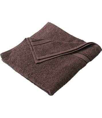 Drap de bain - éponge - MB438 - marron chocolat