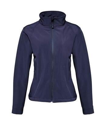 2786 Womens/Ladies 3 Layer Softshell Performance Jacket (Wind & Water Resistant) (Navy) - UTRW2503