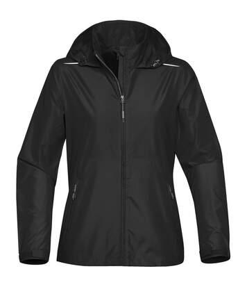 Stormtech Womens/Ladies Nautilus Performance Shell Jacket (Black) - UTBC3882