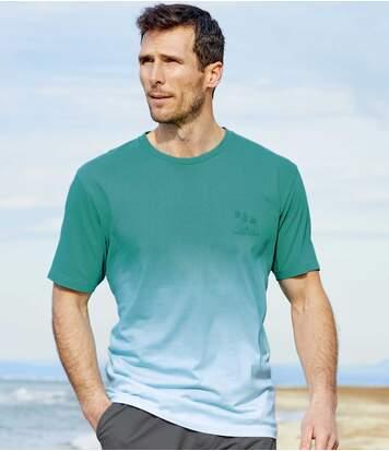 Zestaw 2 t-shirtów Dip Dye