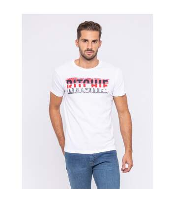 T-shirt col rond pur coton organique JOSH - RITCHIE
