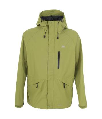 Trespass Mens Corvo Hooded Full Zip Waterproof Jacket/Coat (Cactus) - UTTP296