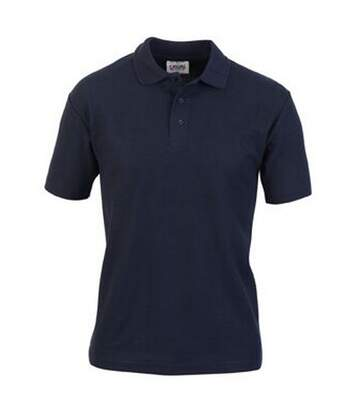 Casual Classic Mens Pique Polo (Navy) - UTAB252