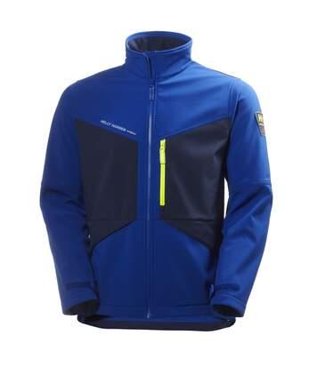 Helly Hansen Mens Aker Softshell Jacket (Egyptian Blue/Evening Blue) - UTBC3947