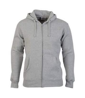 Casual Classic Mens Zip Hood (Sport Grey) - UTAB256