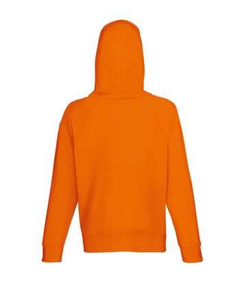Fruit Of The Loom Mens Lightweight Hooded Sweatshirt / Hoodie (240 GSM) (Orange) - UTBC2654