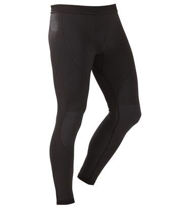Men's Black Performance Plus Thermal Leggings -