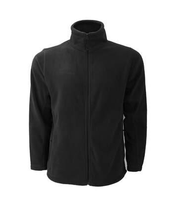 Russell Mens Full Zip Outdoor Fleece Jacket (Black) - UTBC575