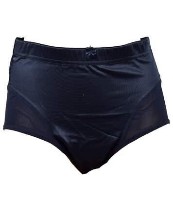 Culottes Femme Gainante INFINITIF Confort et Maitien Qualité supérieure Culottes Gainante Effet Ventre Plat Noir