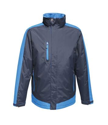 Regatta Mens Contrast Full Zip Jacket (Black Blue/Gentian Blue) - UTRG3743