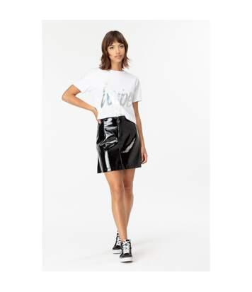 Hype - T-Shirt Court - Femme (Blanc) - UTHY785