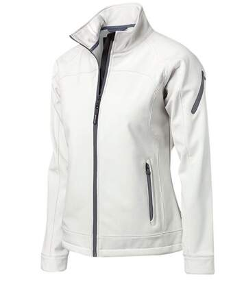Veste blouson softshell - femme - NB30F - blanc