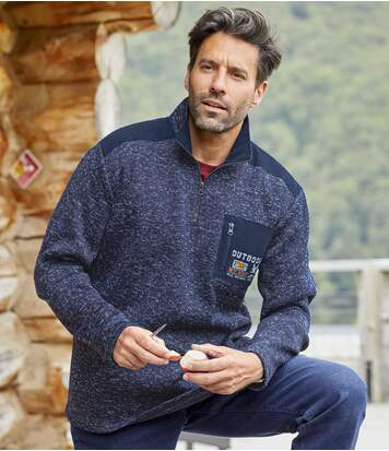 Men's Atlas® Outdoor Jumper - Navy Marl