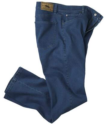 Men's Blue Stretch Jeans