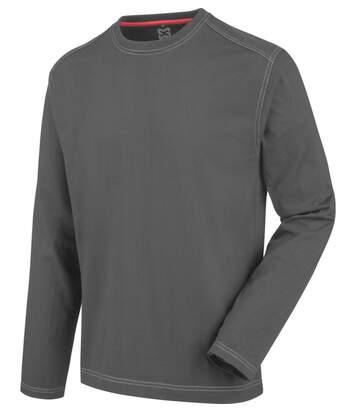 Tee-shirt de travail à manches longues Pro Würth MODYF anthracite