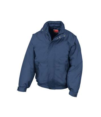 Result Mens Shoreline Mid-Weight Waterproof Windproof Blouson Jackets (Navy Blue) - UTBC846