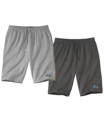 Lot de 2 Bermudas Jersey Running