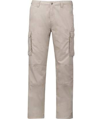 Pantalon léger multipoches pour homme - K745 - beige