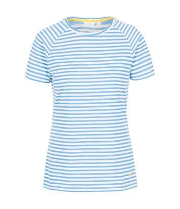 Trespass Womens/Ladies Ani T-Shirt (Ocean Stripe) - UTTP4963