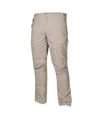 Trespass Mens Todea Convertible Quick Dry Trousers (Mushroom) - UTTP246