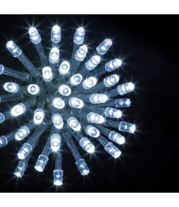 Feeric Christmas - Guirlande Lumineuse Intérieure et Extérieure 40 m 400 LED Blanc froid et 8 jeux de lumière