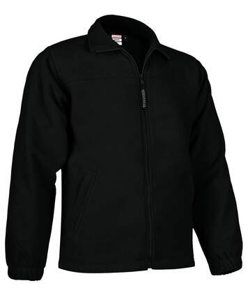 Veste polaire zippée - Homme - REF DAKOTA - noir