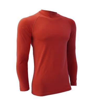 Finden & Hales Mens Sports Long Sleeve Team Baselayer Vest (Red) - UTRW411