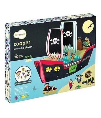 Jeu bateau pirate Cooper