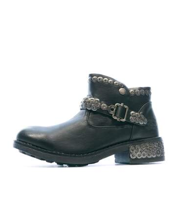 Boots Noir Femme Redskins Tifani