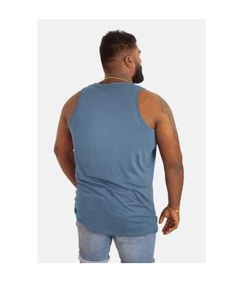 Duke Mens Fabio-2 Kingsize Muscle Vest (Teal) - UTDC172