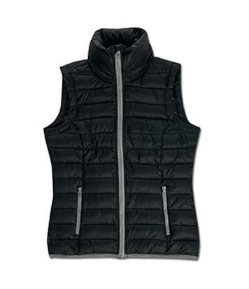 Stedman Womens/Ladies Active Padded Vest (Black Opal) - UTAB314