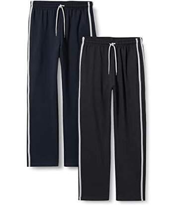 FM London Men's Loungewear Bottoms -Navy/Charcoal