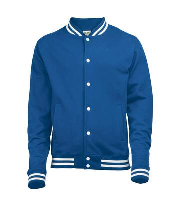 Awdis Adults Unisex College Varsity Jacket (Royal Blue) - UTRW174