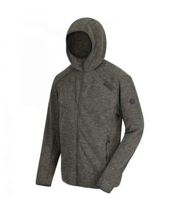 Regatta Mens Luzon Hooded Jacket (Dark Khaki) - UTRG3654
