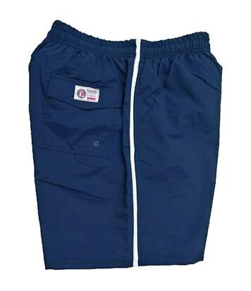 Duke Mens Yarrow Kingsize Full Length Swim Short (Navy) - UTDC193