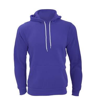 Canvas Unisex Pullover Hooded Sweatshirt / Hoodie (True Royal) - UTBC2598
