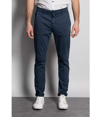 Pantalon chino slim MILANO Navy