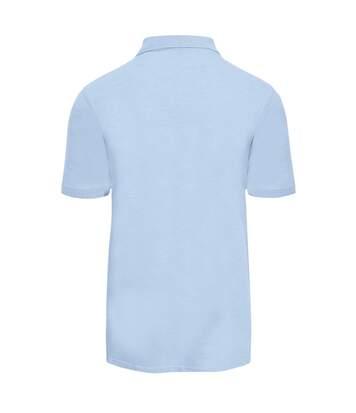 AWDis Just Polos Mens Surf Melange Pique Polo Shirt (Surf Yellow) - UTPC3589