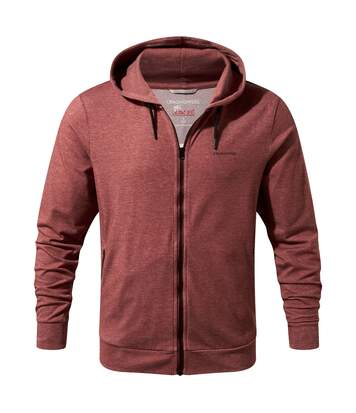Craghoppers Mens NosiLife Tilpa Hood Jacket (Red Earth Marl) - UTCG811