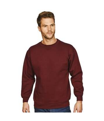 Absolute Apparel Mens Sterling Sweat (Burgundy) - UTAB113