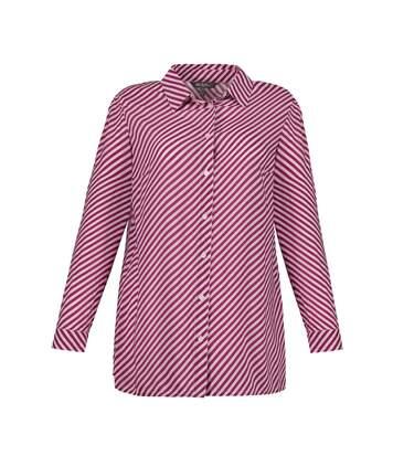 ULLA POPKEN chemise chemisier abricot NOUVEAU