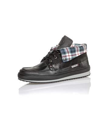 Boots à lacets gris anthracite pour homme