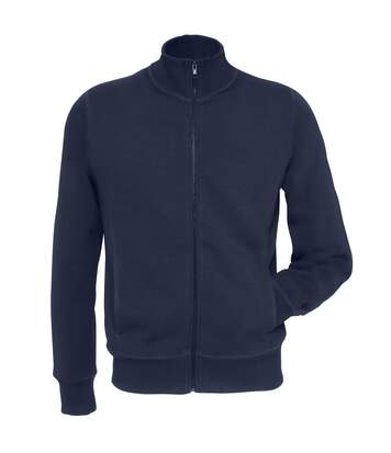 B&C Mens Spider Full Zipped Fleece Top (Navy) - UTRW3027