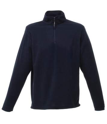 Regatta Mens 170 Series Anti-pill Zip Neck Micro Fleece Jacket (Dark Navy) - UTRW1207