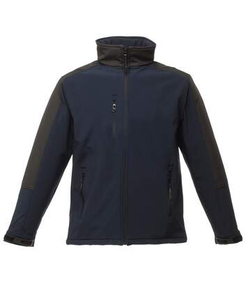 Regatta Mens Hydroforce 3-layer Membrane Waterproof Breathable Softshell Jackets (Seal Grey/Black) - UTBC814