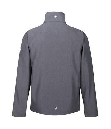 Regatta Mens Cera IV Softshell Jacket (Black Marl) - UTRG4918