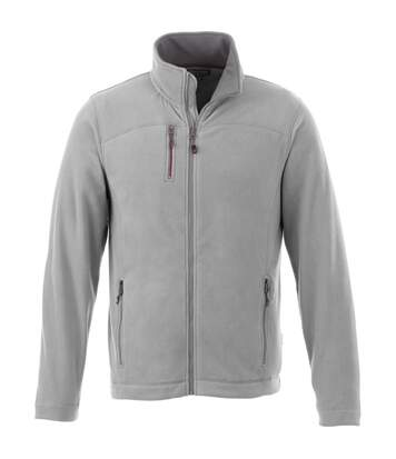 Slazenger Mens Pitch Microfleece Jacket (Grey) - UTPF1797