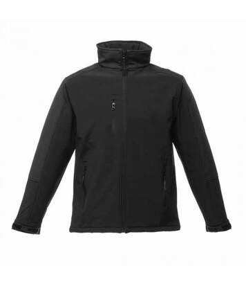 Regatta Mens Hydroforce 3-layer Membrane Waterproof Breathable Softshell Jackets (Black/Black) - UTBC814